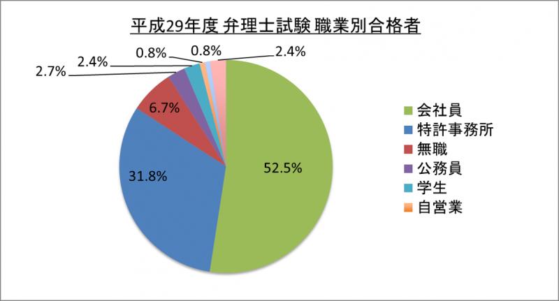 平成29年度弁理士試験職業別合格者_29