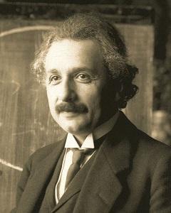 アルベルト・アインシュタイン氏_画像