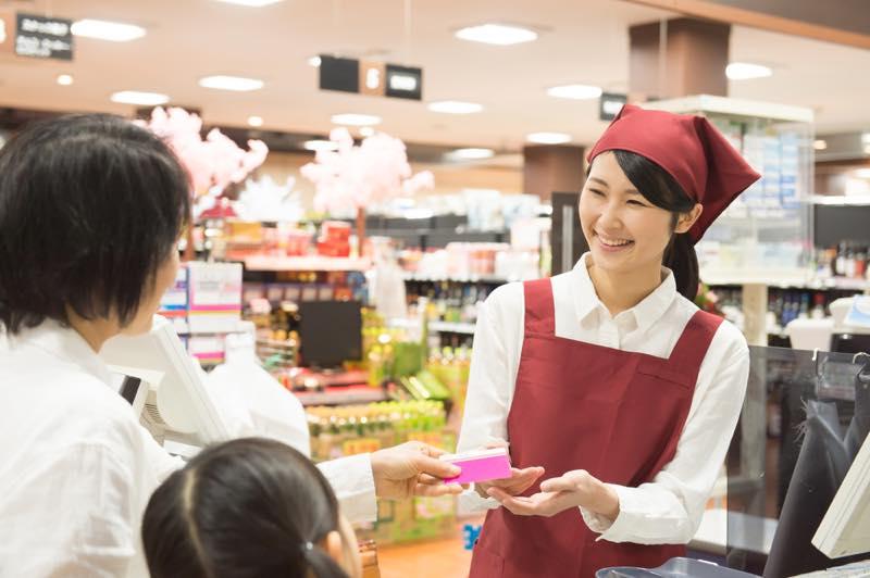 食品スーパー店員_画像